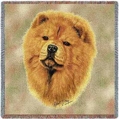 Lap Square Blanket - Chow Chow by Robert May 1165