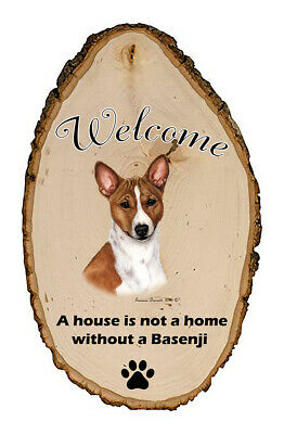 Outdoor Welcome Sign (TB) - Basenji 51172