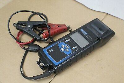 Midtronics EXP-800 Battery Electronics Diagnostic Analyzer Printer w Clamp Leads