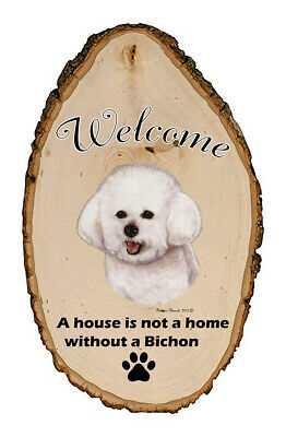 Outdoor Welcome Sign (TB) - Bichon Frise 51037