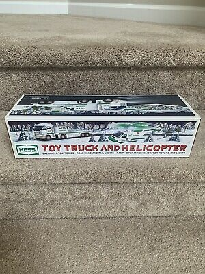 Hess 2006 Toy Truck And Helicopter New In Box - Never Opened!!!