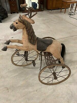 Very Old Peddle Horse,