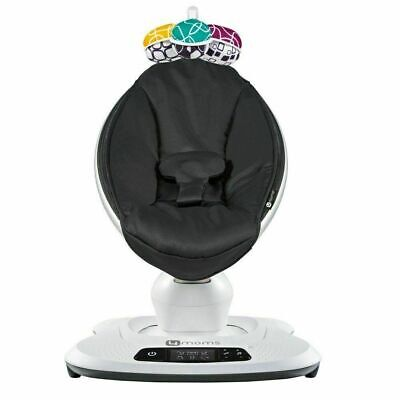 4moms MamaRoo 4 infant seat / swing – Classic Black (NEW IN RETAIL BOX)
