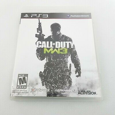 Call of Duty: Modern Warfare 3 Sony PlayStation 3 Video Game PS3