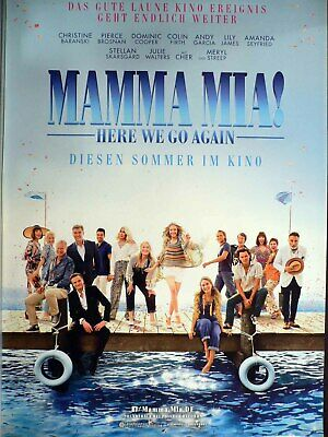 Mamma Mia! - Here We Go Again - Teaser - Cher - Filmposter A1 84x60cm gerollt