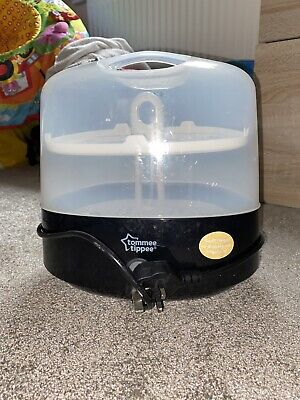Tommee Tippee Electric Steam Steriliser - Black