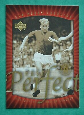 UPPER DECK MANCHESTER UNITED 2002; SIR BOBBY CHARLTON - PAST PERFECT No 71