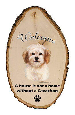 Outdoor Welcome Sign (TB) - Cavachon 51463