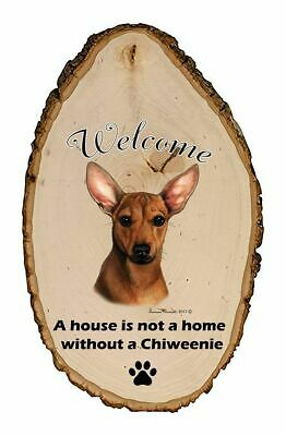 Outdoor Welcome Sign (TB) - Red Chiweenie 51965