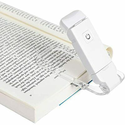 USB Rechargeable Book Reading Light, Warm White, Brightness Adjustable For LED