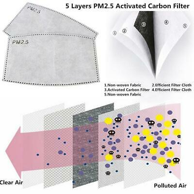 PM2.5 Activated Carbon Face Mask Filter Replacement