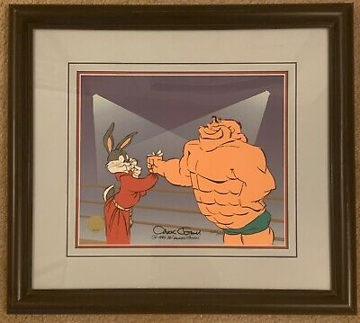 Warner Brothers Cel - Looney Tunes - Bugs & Crusher - Chuck Jones - 205/500