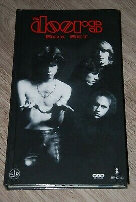 The Doors - Box Set - 4 Cd - Elektra Entertainment Group 1997 - Coffret Cd Rare