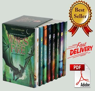 Wings of Fire 1-12 Books Set By Tui T. Sutherland  ‮ FDP