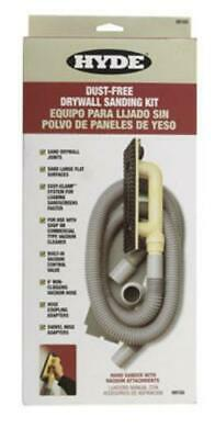 Hyde 09165 Dust-Free Drywall Hand Sander Kit With 6' Hose