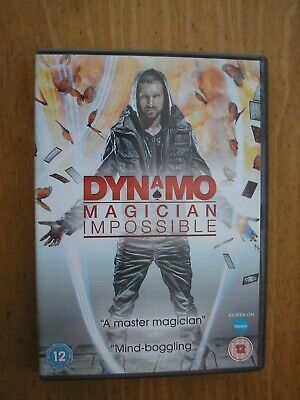 Dynamo~Magician Impossible! (Dvd, 2011)  Used