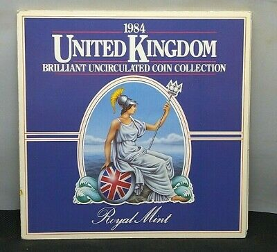 Lovely Royal Mint 1984 United Kingdom Brilliant UNC Coin Collection SU1272