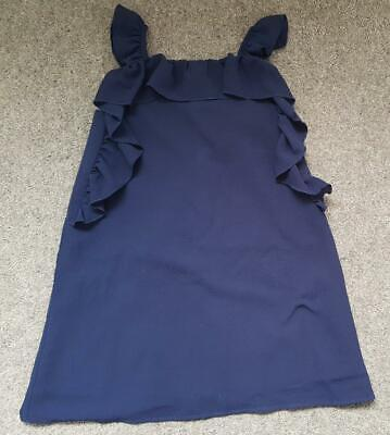 Gorgeous Girls Summer Party Dress,  Navy Blue, Frilled, 3-4Yrs From Very