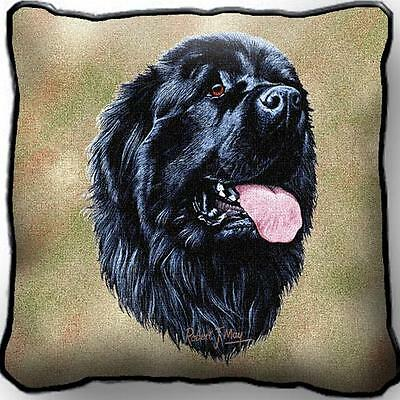 """17"""" x 17"""" Pillow Cover - Newfoundland by Robert May 1155"""