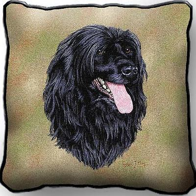 """17"""" x 17"""" Pillow Cover - Portuguese Water Dog by Robert May 3379"""