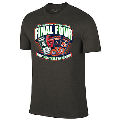 2019 NCAA Final Four March Madness Minneapolis Basketball Ticket T-Shirt (S)