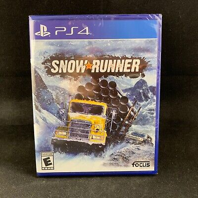 Snow Runner (PS4 / PlayStation 4) BRAND NEW
