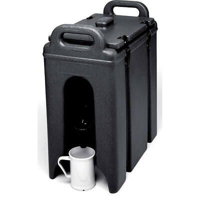 Cambro 2.5 Gal. Insulated Beverage Dispenser Black 250Lcd-110