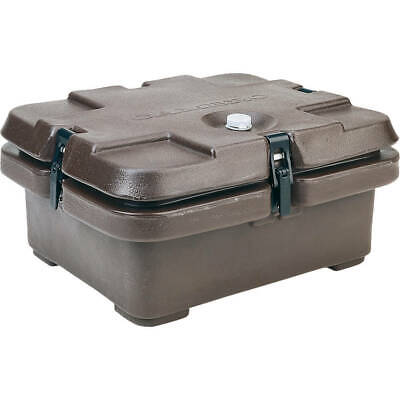 Cambro Top Loading Insulated Food Carrier, Half Size Pans Dark Brown 240Mpc-131