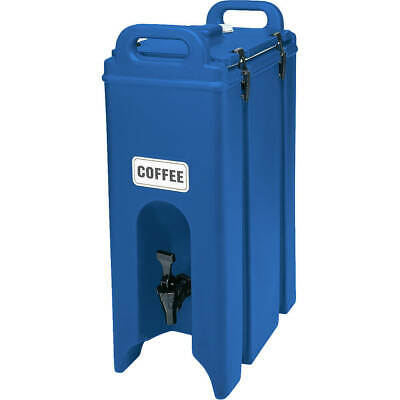 Cambro 4.75 Gal. Insulated Beverage Dispenser Navy Blue 500Lcd-186
