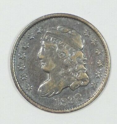 1832 Capped Bust  Half Dime VERY FINE Silver 5c