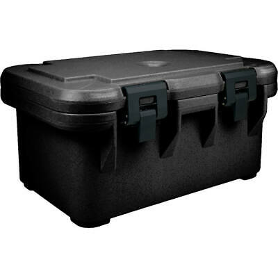 "Cambro Insulated Food Carrier For 8"" Deep Pans, Top Loading S-Series Black"