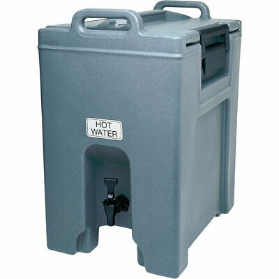 Cambro 10.5 Gal. Insulated Beverage Dispenser, Ultra Camtainer Slate Blue Uc1000