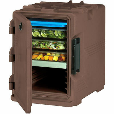 Cambro S-Series Insulated Food Carrier / Hot Box, Built-In Gasket Dark Brown