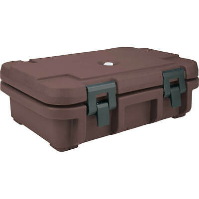 "Cambro Top Loading Insulated Food Carrier For 4"" Deep Pans Dark Brown Upc140-131"