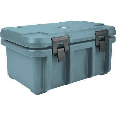 "Cambro Top Loading Insulated Food Carrier For 8"" Deep Pans Slate Blue Upc180-401"