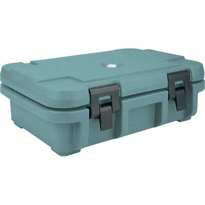 "Cambro Top Loading Insulated Food Carrier For 4"" Deep Pans Granite Green Upc140"
