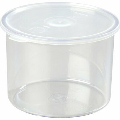 Cambro 1.5 Qt. Round Salad Bar Containers With Lid, 6Pk Clear Ccp15-152