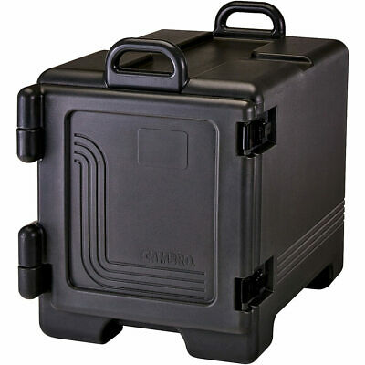 Cambro Insulated Food Carrier / Hot Box For Full Size Pans, Front Loading Black