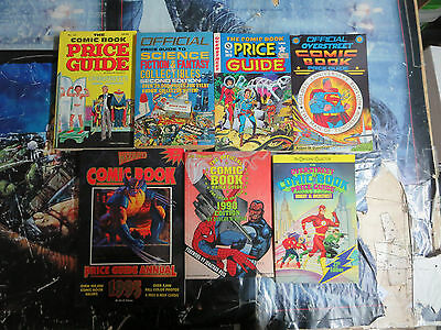 The Price Guide Collection #1. 7 Guides, 1979-1995, Softcover-  uncirculated!