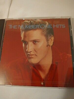 The Number One Hits [Remaster] by Elvis Presley (CD, 1987, RCA) LIKE NEW