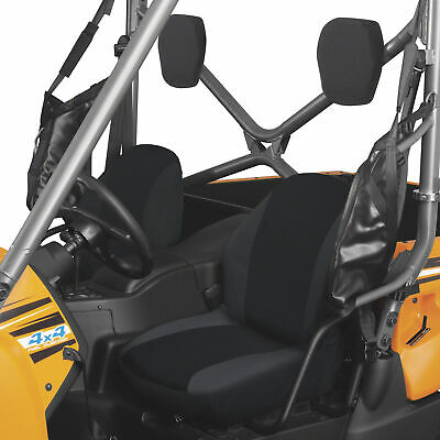 Classic Accessories QuadGear UTV Bucket Seat Cover Set Black, Fits Yamaha Rhino