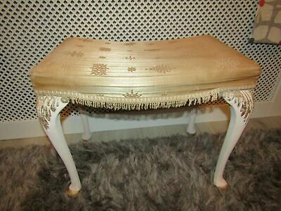 VINTAGE 70 / 80's BEDROOM / DRESSING TABLE STOOL IN GREAT CONDITION,