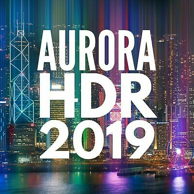 Aurora HDR 2019 ✅ Official Version ✅ Life time License ✅ FAST DELIVERY 10s 🔥