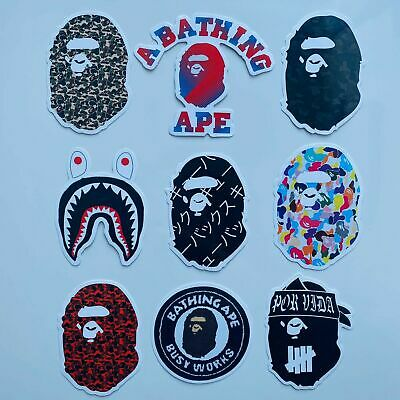 Bape A Bathing Ape Stickers Custom Vinyl Set *PICK YOUR OWN* New Hypebeast