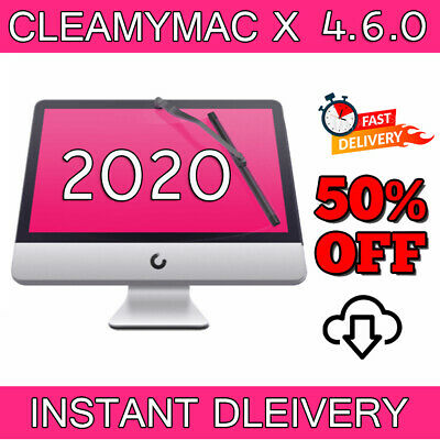 Clean My Mac X 4.6.0 Full Version ✔ 2020  🔐 LIFE TIME ACTIVATION ✅ 7s DELIVERY