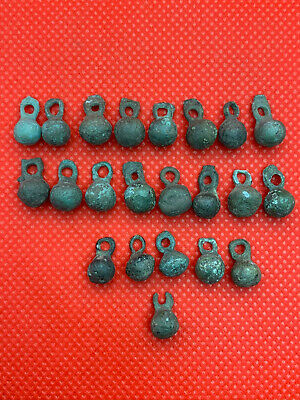 Ancient Viking Buttons 22 Pieces the average size