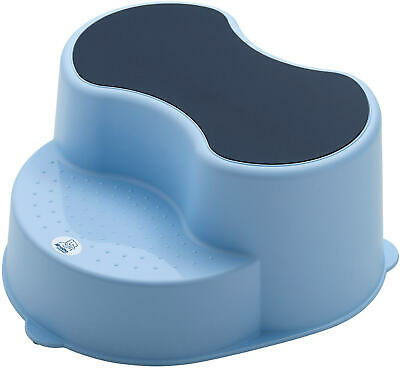 Rotho Top Children Stool 2 Stage Step Stool - Sky Blue New