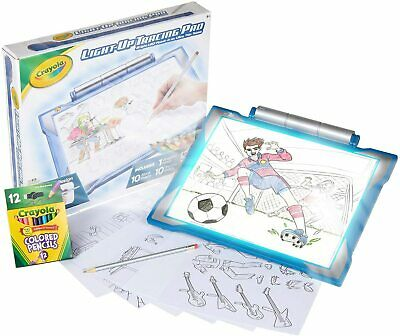 Light-up Tracing Pad - Bright LED drawing screen Great art kit for easy tracing