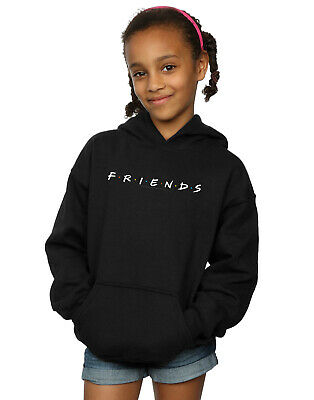 Friends Girls Text Logo Hoodie