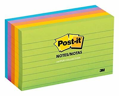 Post-it Notes America's #1 Favorite Sticky Note 3 in x 5 in Jaipur Collection...